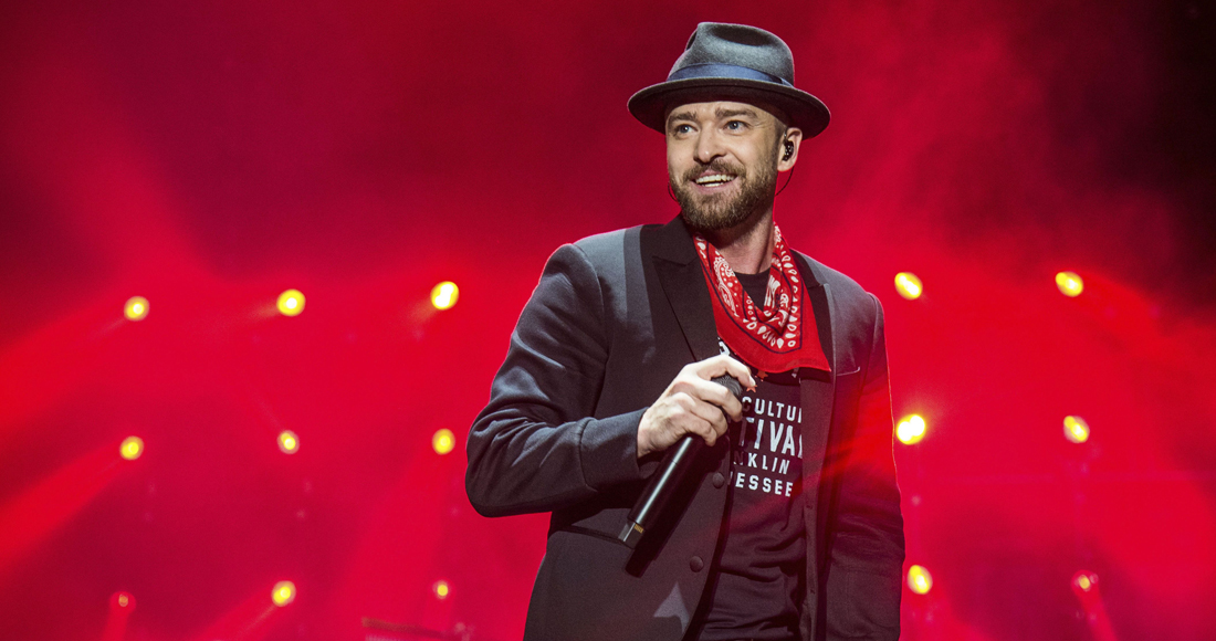 Justin Timberlake's Top 20 biggest songs on the Official Chart