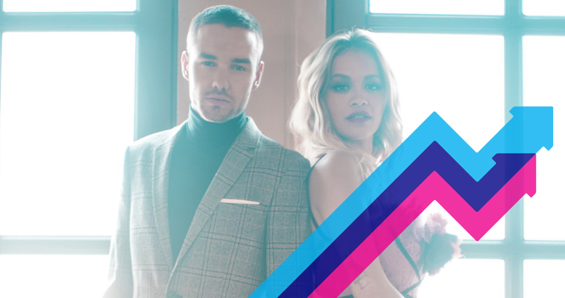 Liam Payne and Rita Ora's Fifty Shades Freed single For You debuts at Number 1 on the Official Trending Chart