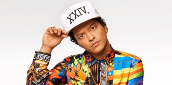 Bruno Mars' biggest singles on the Official Chart