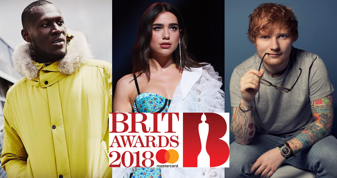Ed Sheeran, Dua Lipa lead Brit Awards nominations