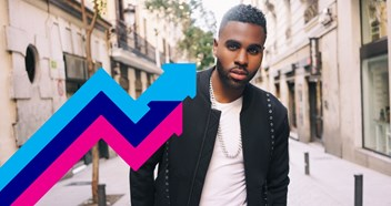 Jason Derulo's Tip Toe is Number 1 on this week's Official Trending Chart