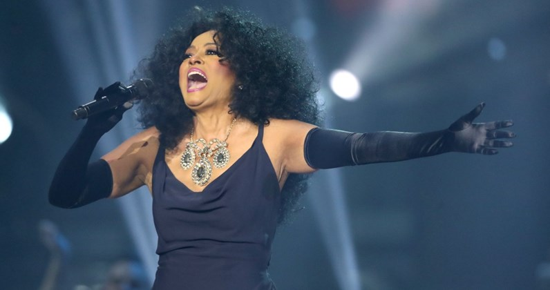 Diana Ross complete UK singles and albums chart history