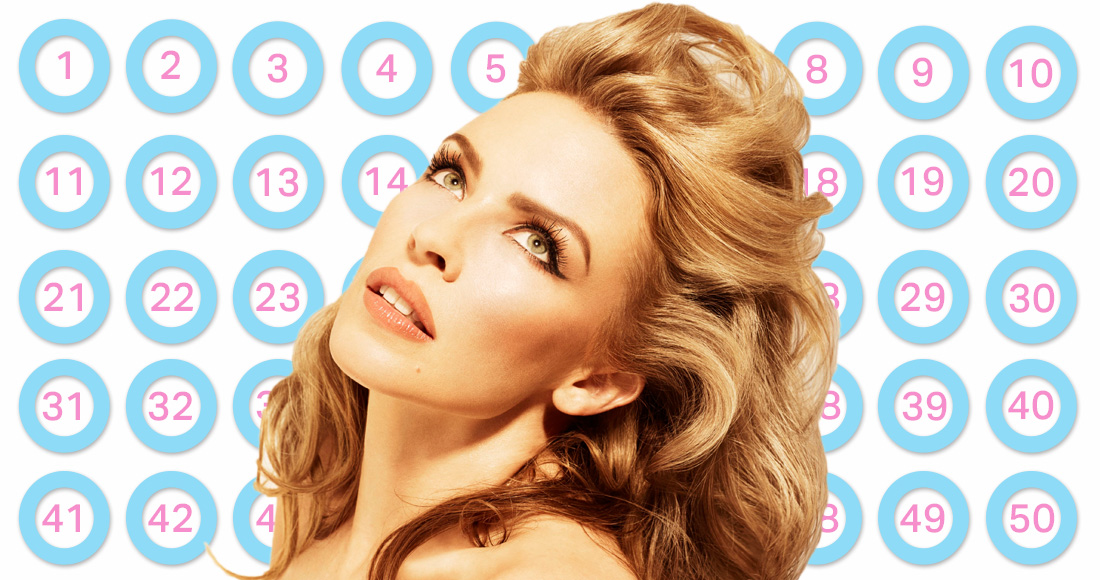 50 golden chart facts about Kylie Minogue