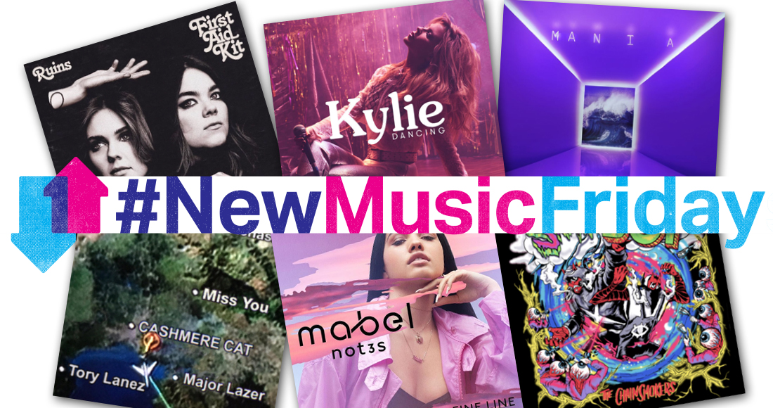 This week's new releases: Kylie Minogue, Mabel, Fall Out Boy, more