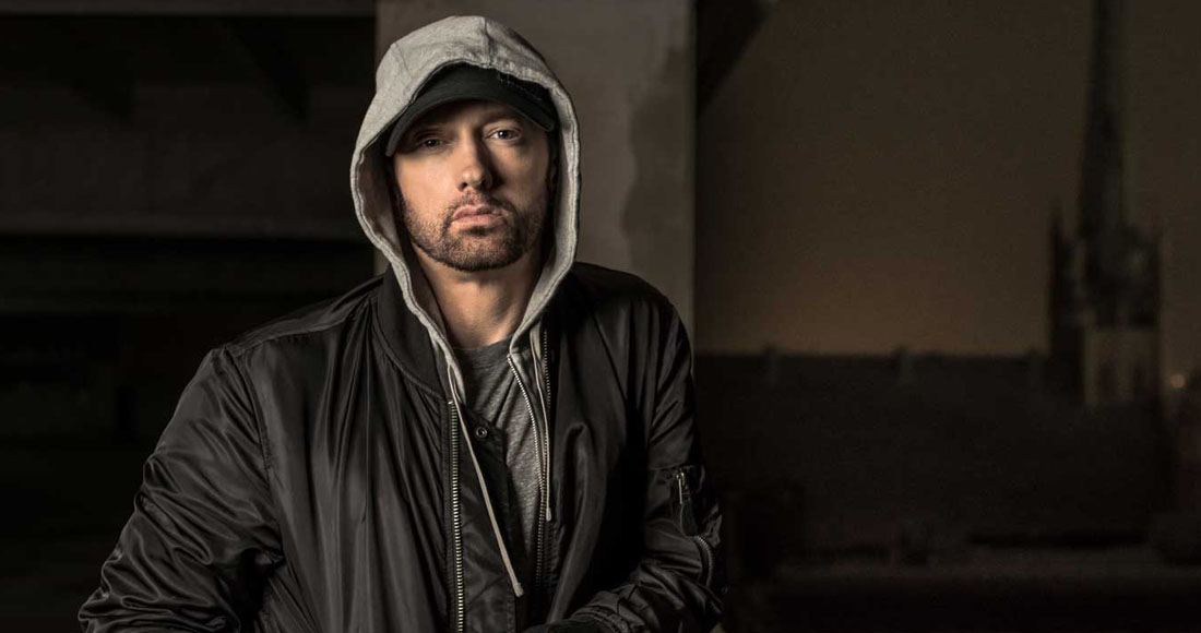 Eminem claims his ninth Number 1 with River on the Official Singles Chart