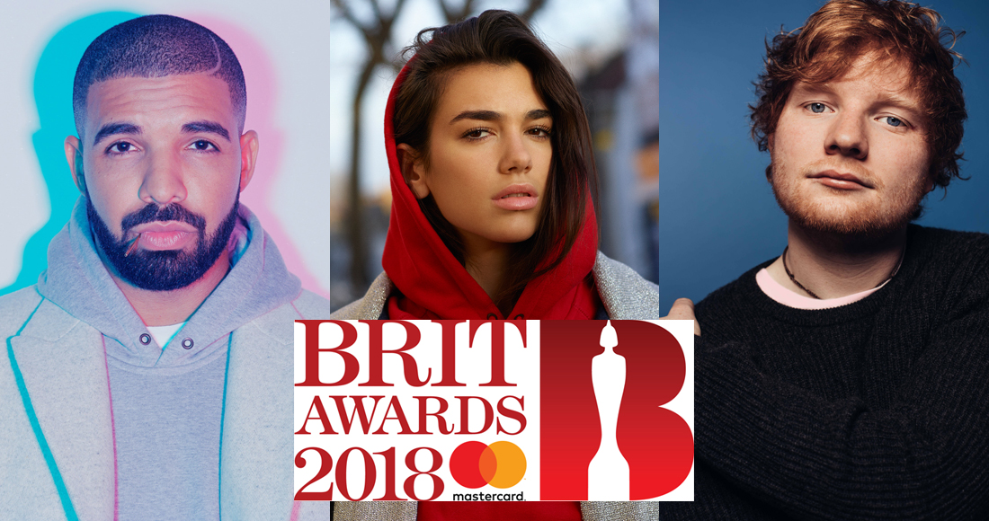 This year's biggest selling BRIT Award nominees revealed