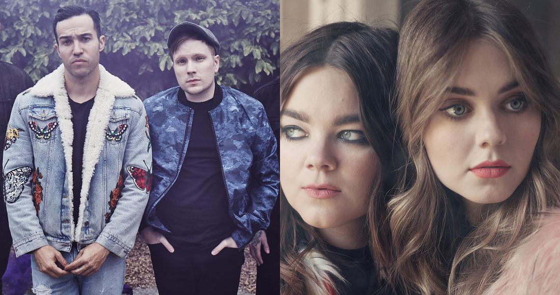 Fall Out Boy and First Aid Kit challenging The Greatest Showman for Number 1 album