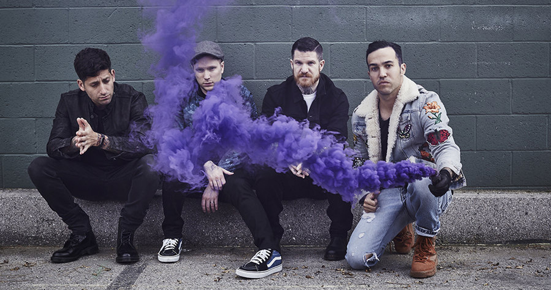 Fall Out Boy complete UK singles and albums chart history