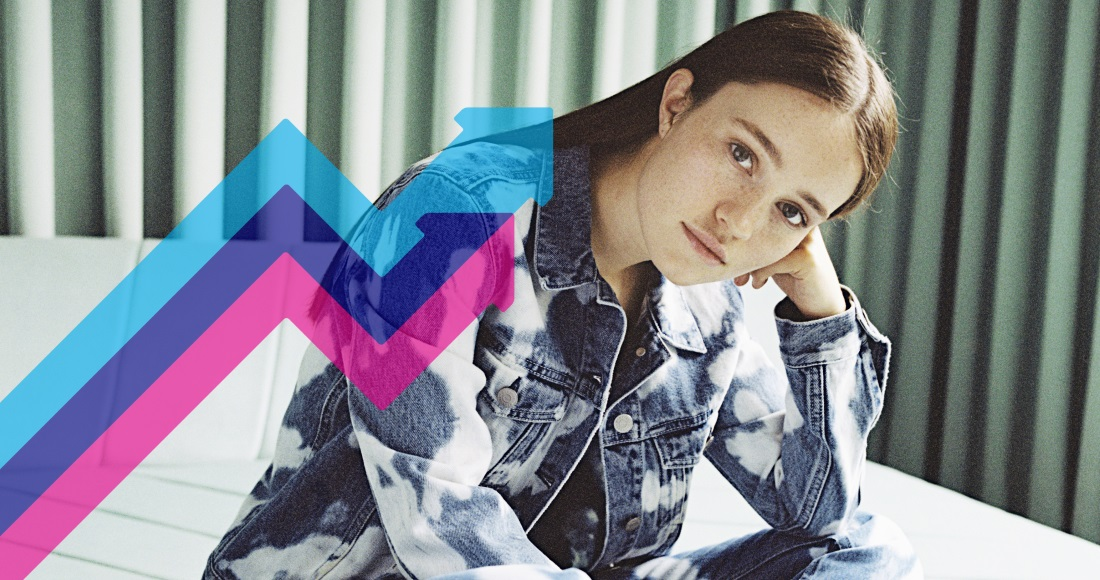 Sigrid's Strangers is Number 1 on this week's Official Trending Chart