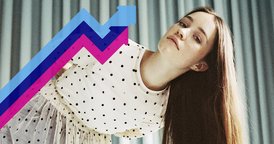 Sigrid takes the Number 1 spot on the Official Trending Chart