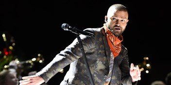 Watch Justin Timberlake's Super Bowl halftime show
