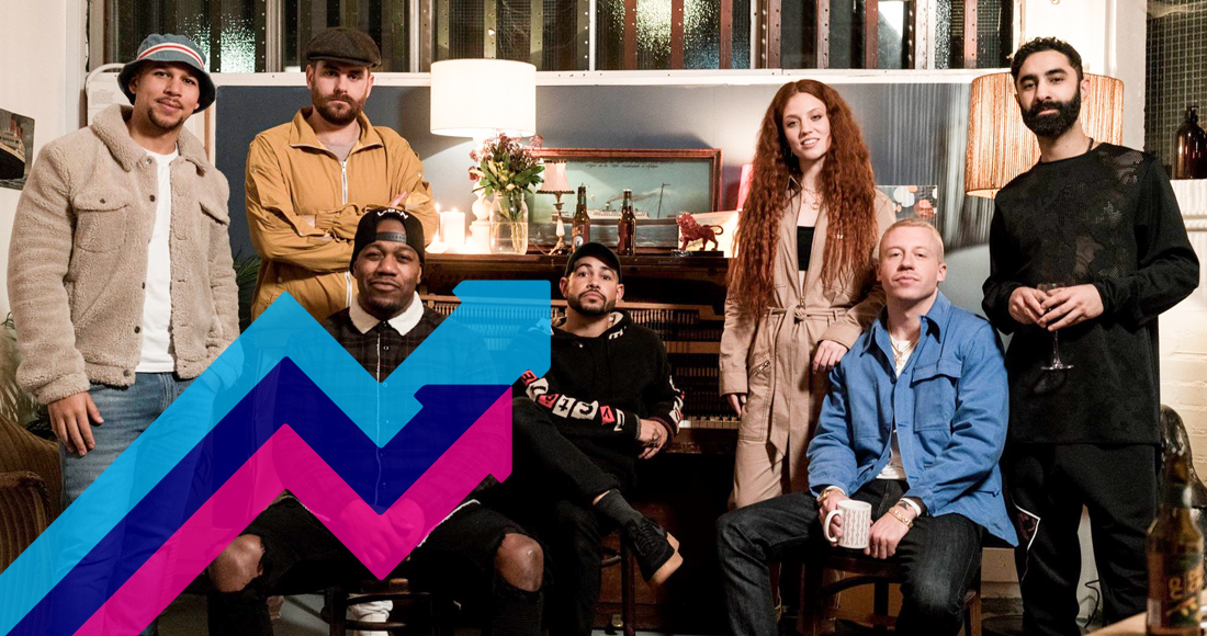 Rudimental's These Days climbs to Number 1 on the Official Trending Chart