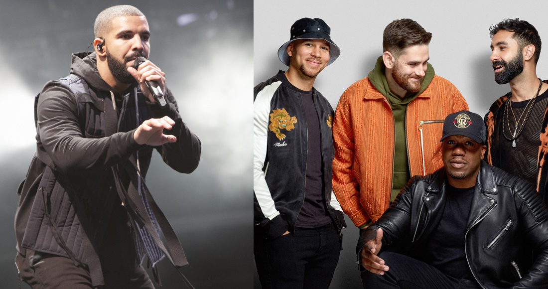 Drake and Rudimental continue tussle for Number 1 single