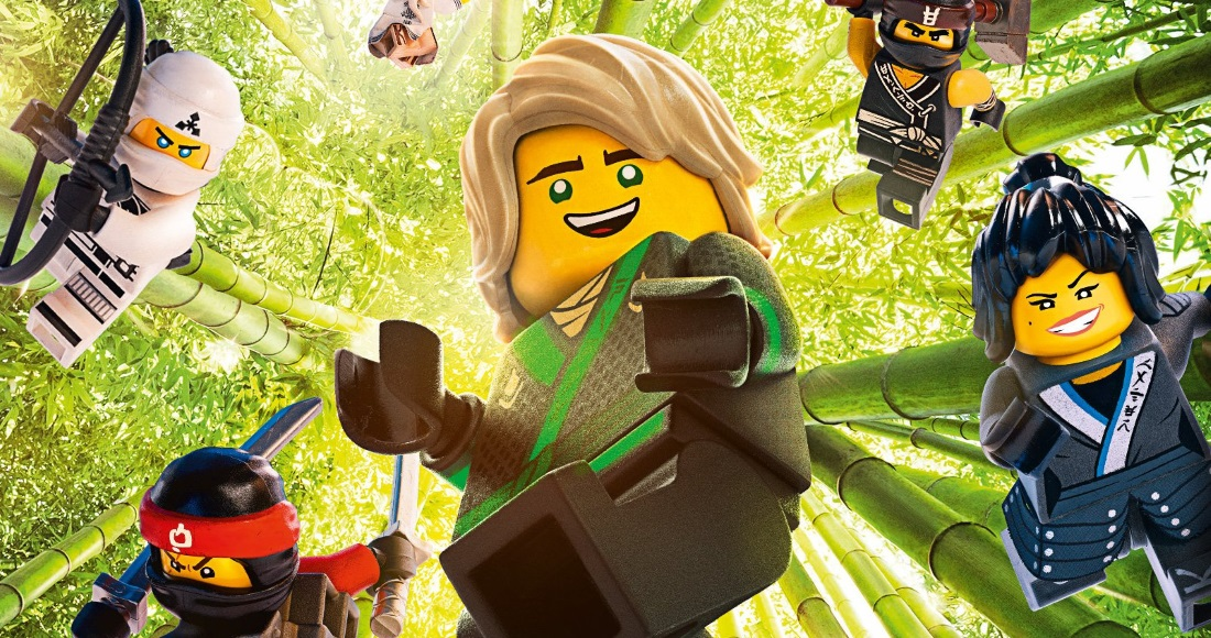 The LEGO Ninjago Movie is challenging for Number 1 on this week's DVD chart