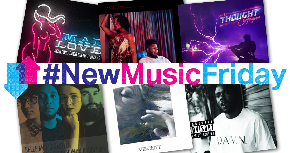 This week's new releases: Muse, Khalid & Normani, more
