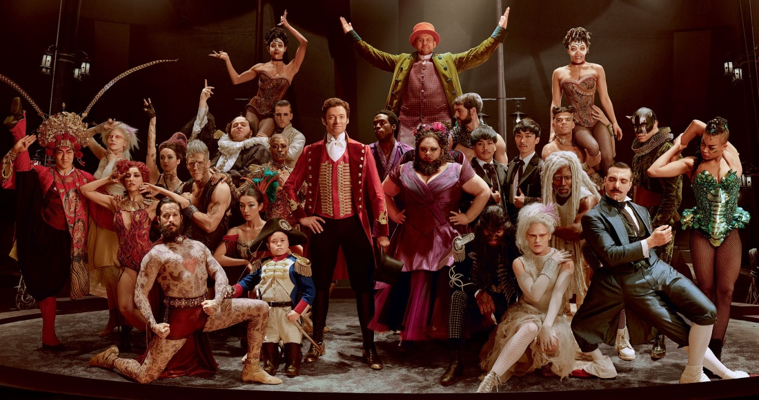 The show continues! The Greatest Showman set for DVD Chart Number 1