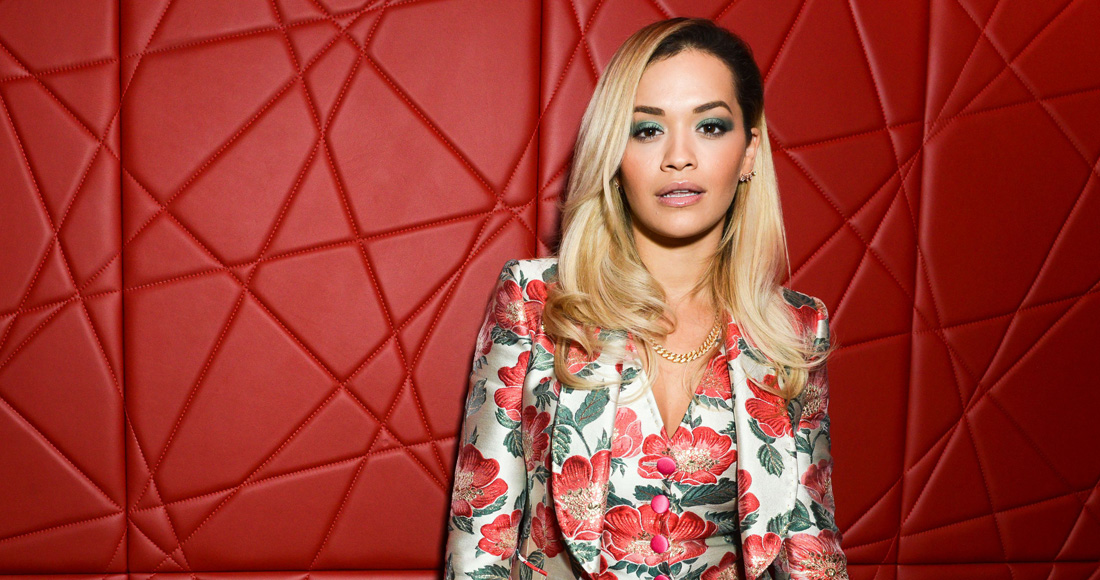 Rita Ora equals Official Chart record for the most Top 10 singles by a British female artist