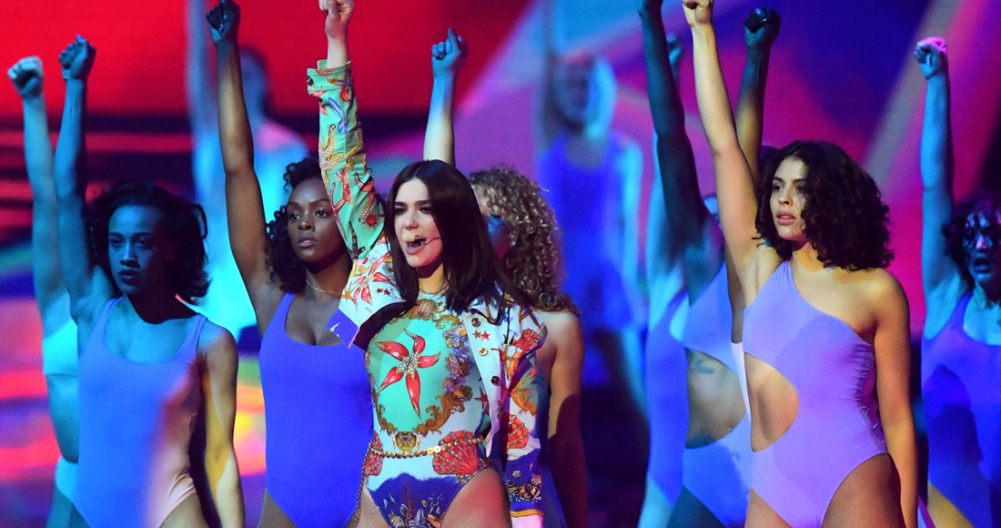 BRITs winners Dua Lipa, Stormzy and more see huge album chart uplift
