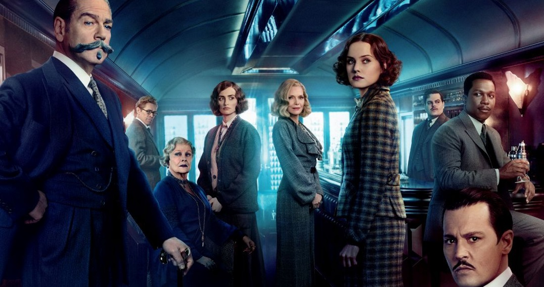 Murder on the Orient Express on the right track to DVD chart top spot