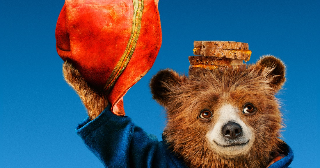 Paddington 2 racing to the top of this week's Official Video Chart