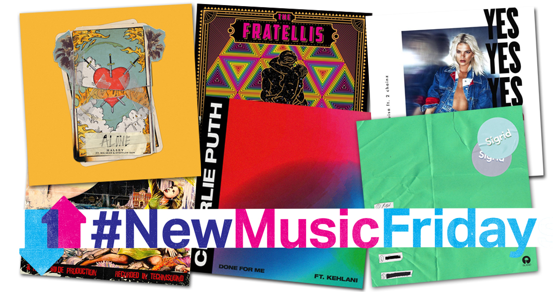 New releases: Charlie Puth, Louisa Johnson, The Fratellis, more