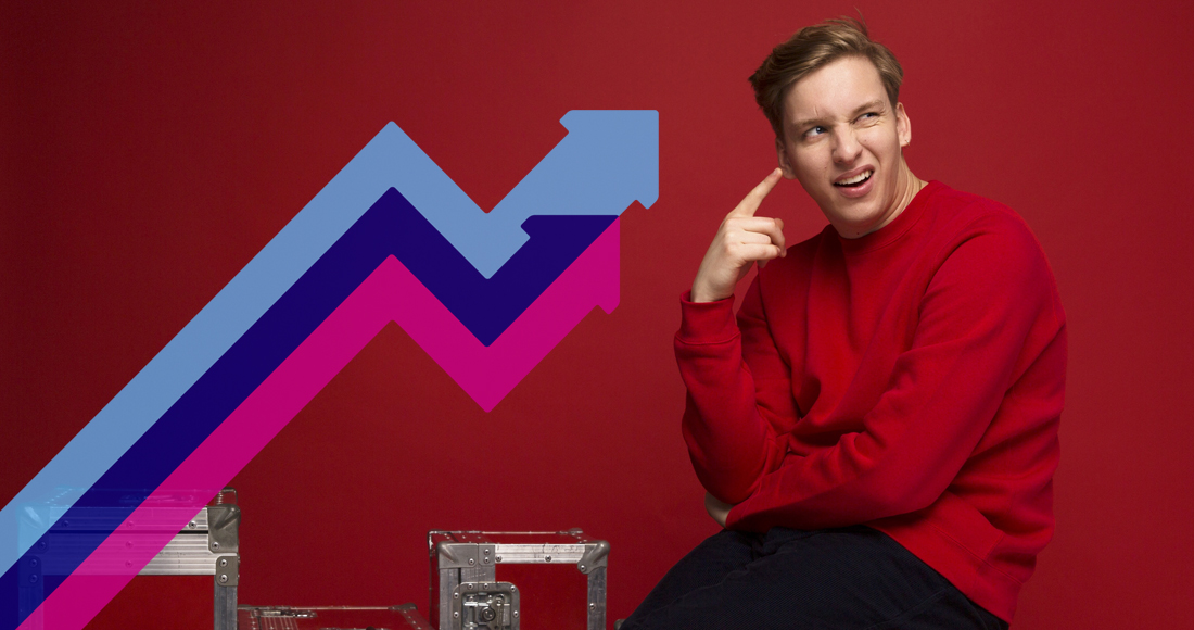 George Ezra scores second week at Number 1 on Official Trending Chart