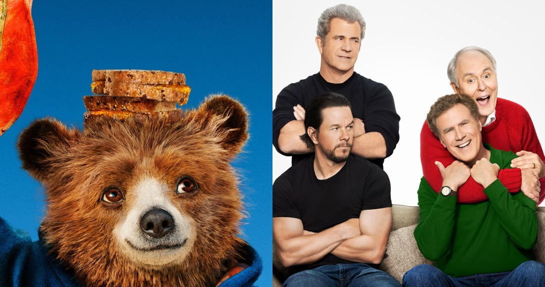 It's Paddington 2 vs Daddy's Home 2 on the DVD chart