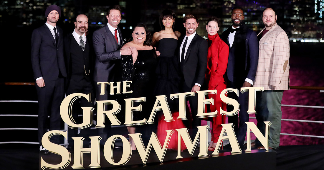 The Greatest Showman breaks UK digital download record