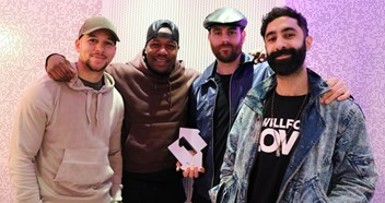 "Rudimental claim third Number 1 on Official Singles Chart with These Days: ""Yes yes yes!"""