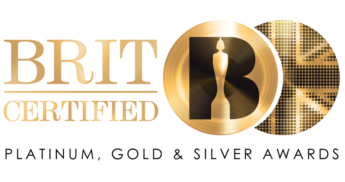 Platinum, Gold & Silver certification awards are now BRIT Certified