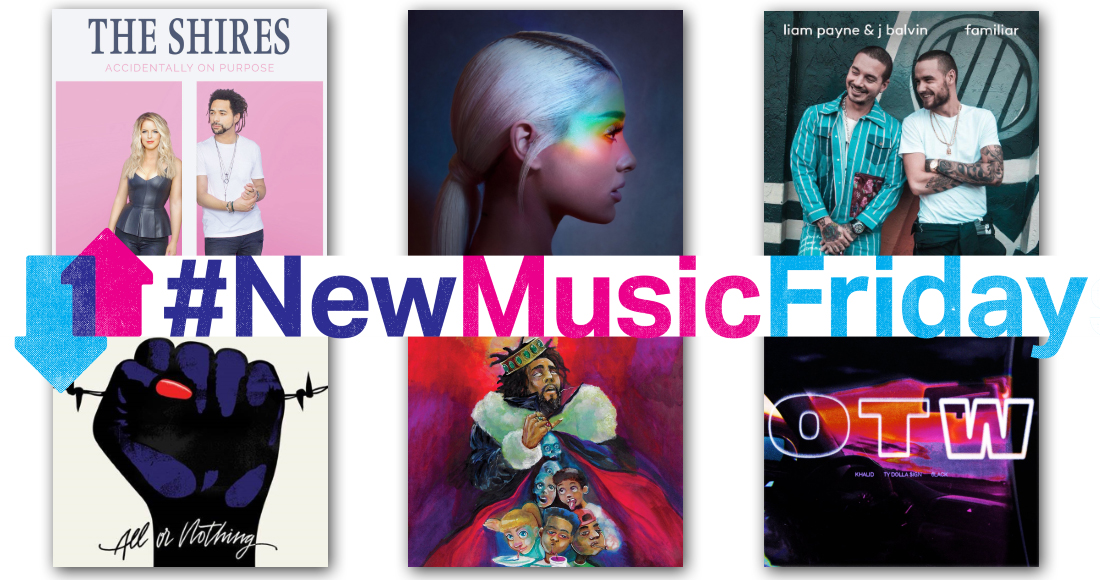 New releases: Ariana Grande, J. Cole, The Shires more