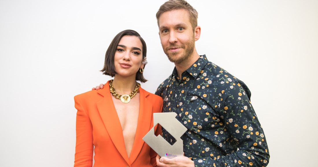 Calvin Harris & Dua Lipa's One Kiss is the biggest Number 1 of 2018 so far