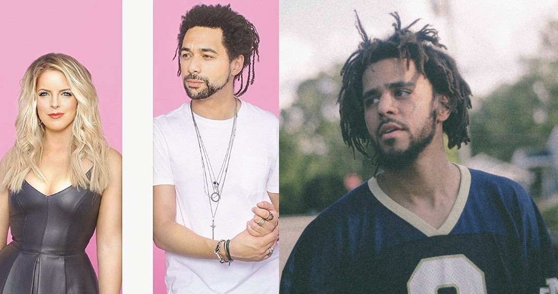 The Shires & J. Cole battling for highest new albums entry