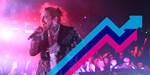 Post Malone's Goodbyes is Number 1 on the Official Trending Chart