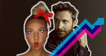 David Guetta and Sia top this week's Official Trending Chart with Flames
