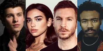 Dua and Calvin eye five weeks at Number 1 while Childish Gambino and Shawn Mendes advance on Top 10