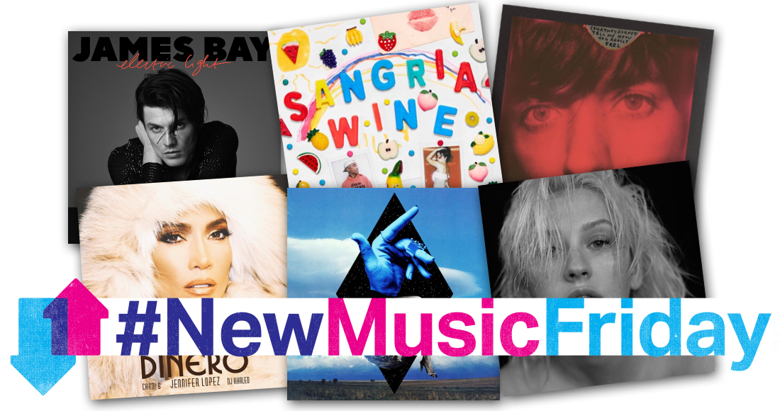This week's new releases: Pharrell x Camila Cabello, James Bay, more