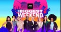Which performances from BBC's The Biggest Weekend will be broadcast?