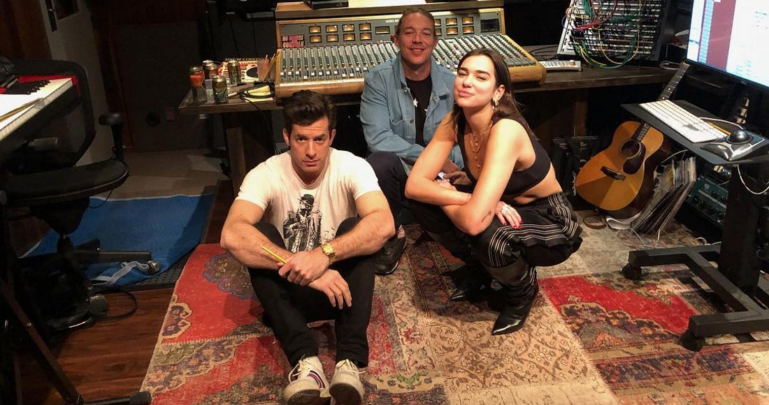 Diplo & Mark Ronson's new group Silk City are releasing a song with Dua Lipa