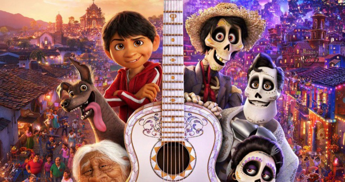 Coco leading Oscar winners on this week's Official Video Chart