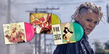 Win Pink's new vinyl reissues of classic albums I'm Not Dead, Funhouse and The Truth About Love
