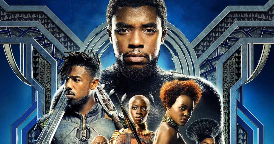 Black Panther is outselling the Top 20 combined on this week's Official Video Chart
