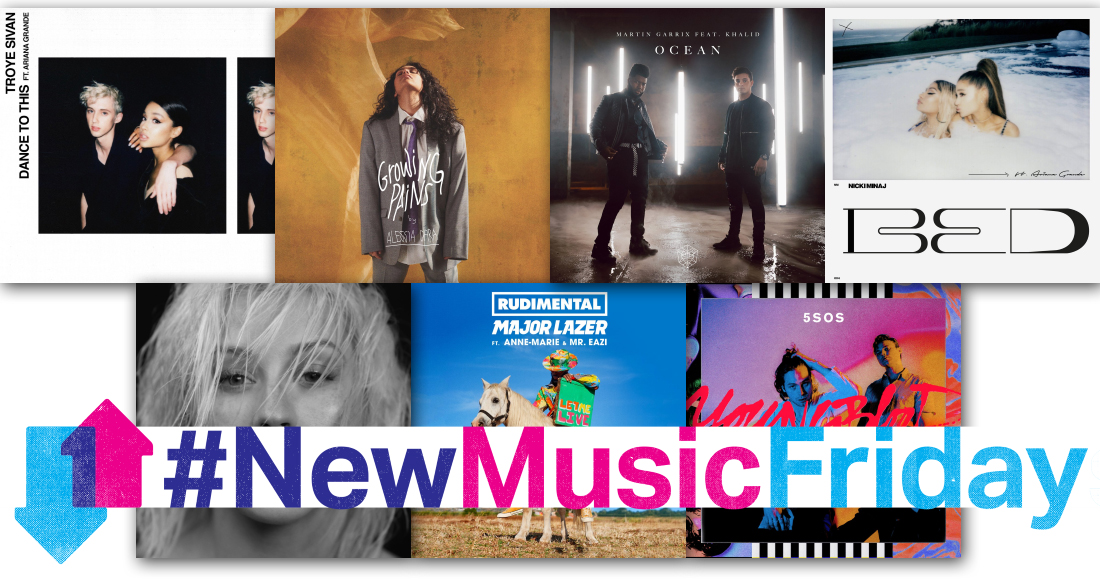 This week's new releases: Christina Aguilera, 5SOS, more