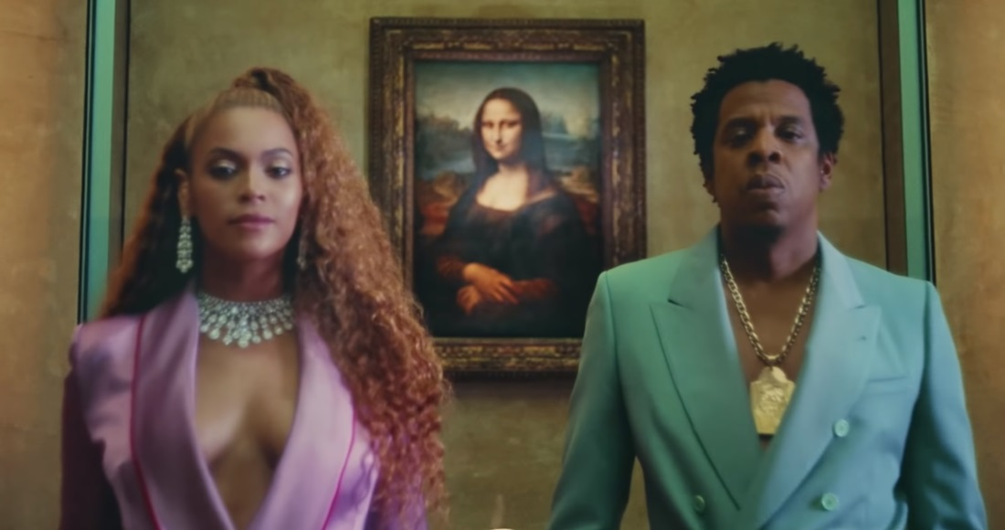 Beyonce and Jay-Z shot the dramatic clip at the Louvre