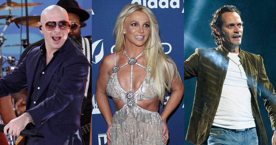 Britney Spears teams up with Pitbull and Marc Anthony on new single