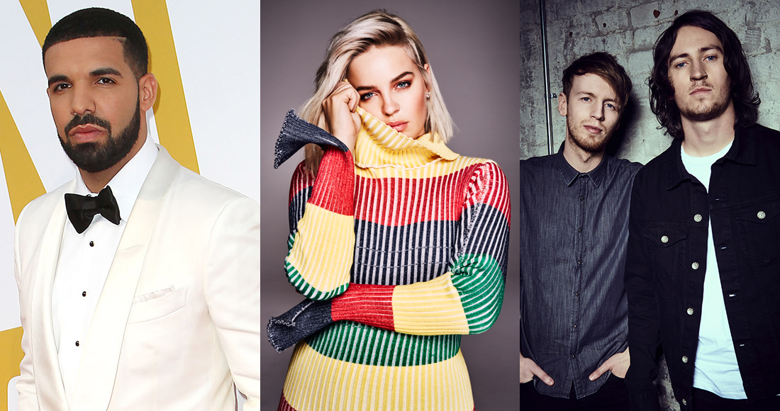 Ireland's Official Top 40 biggest singles of 2018 so far