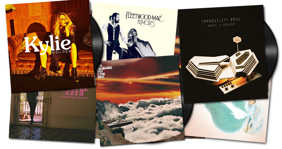 The Official Top 40 biggest vinyl albums and singles of 2018 so far