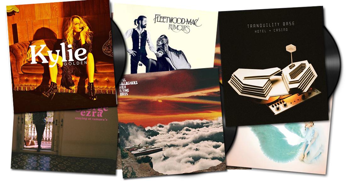 Resultado de imagen de 10 vinyls 2018