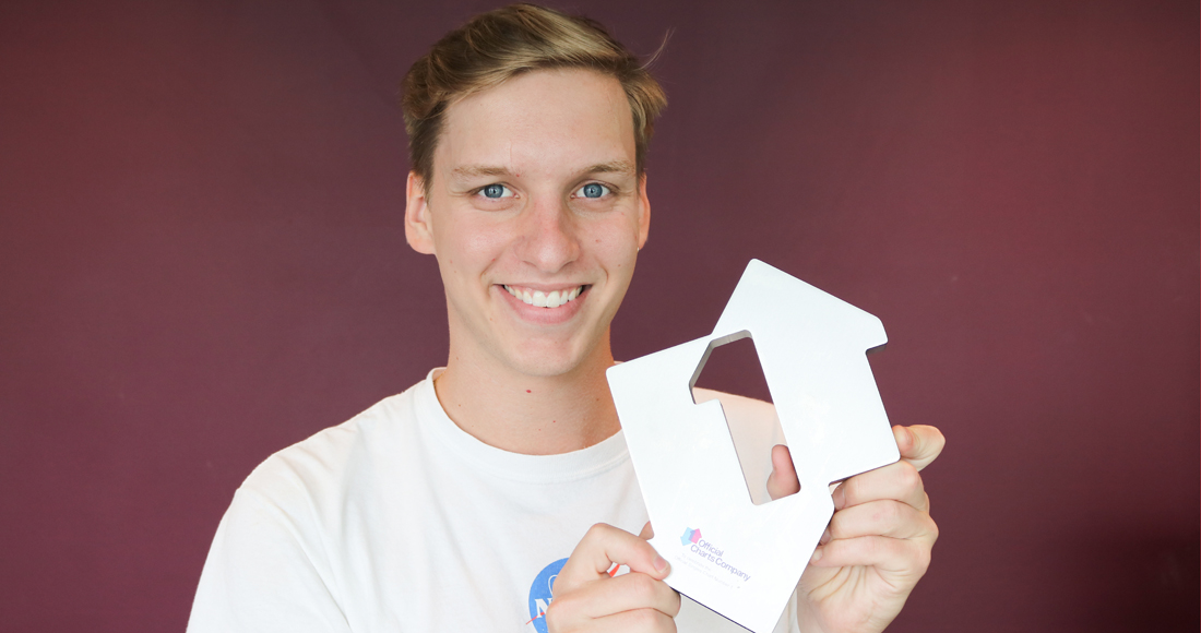 George Ezra returns to Number 1 for a third week with Shotgun