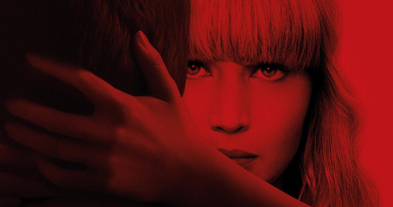 Red Sparrow on track to fly to the top of the Official Video Chart